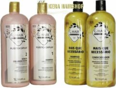 G-hair Plastica Keratine Set Met Naverzorging