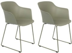 Wants and Needs Wants&Needs Eetkamerstoel Tango Groen 81,5 x 58 x 54 (2 stuks)