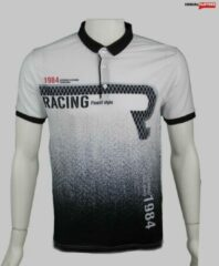 Witte Merkloos / Sans marque Merkloos Maccali Racing Heren Poloshirt M