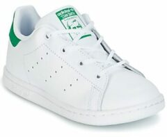 sports shoes b8830 0f8ce Groene Adidas Meisjes Sneakers Stan Smith I - Wit - Maat 27