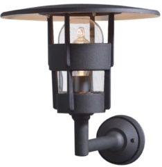 Konstsmide Freja Up 522-750 Buitenlamp (wand) Energielabel: Afhankelijk van de lamp Spaarlamp, LED E27 60 W Zwart