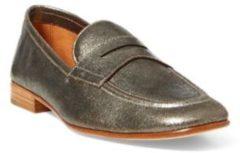 Ashtyn Metallic Leather Loafer