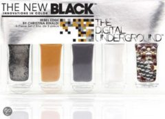 Zwarte The New Black Digital Underground - Christina Rinaldi Rebel Edge - Nagellak