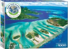 Eurographics puzzel Save the Planet! Coral Reef - 1000 stukjes