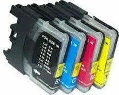 Cyane KUPRI - Alternatief Brother LC1100 - Set van 4 cartridges