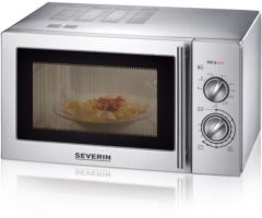 Severin ME 7869 Aanrechtblad Grill-magnetron 22l 900W Roestvrijstaal magnetron