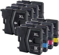 Cyane Inkmaster Huismerk cartridges voor LC-985XL | Multipack van 4 inktcartridges voor Brother DCP J125, J140W, J315W, J515W, MFC J220, J265W, J410, J415W