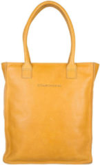 Oranje Cowboysbag-Schoudertassen-Laptop Bag Woodridge 13 Inch-Geel