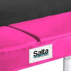 Salta - Trampolinerand - Trampolin Edge Quadrat - Roze - 214x305cm