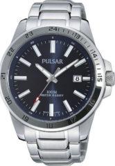 Zilveren Pulsar PS9331X1 - Horloge - Zilverkleurig - Ø 41 mm