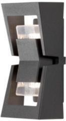 Konstsmide Potenza 7955-370 Buitenlamp (wand) Energielabel: Afhankelijk van de lamp LED GU10 12 W Antraciet