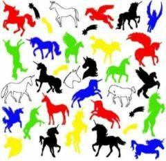 FlexMade.nl Raamfolie Eenhoorn