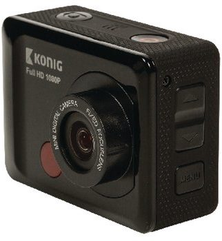 Afbeelding van König Full HD Action Cam 1080p Waterdichte Behuizing Zwart Full HD Action Cam 1080p Waterdichte Behuizing Zwart