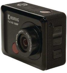 König Full HD Action Cam 1080p Waterdichte Behuizing Zwart Full HD Action Cam 1080p Waterdichte Behuizing Zwart