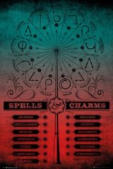 GB eye GBeye Harry Potter Spells and Charms Poster 61x91,5cm