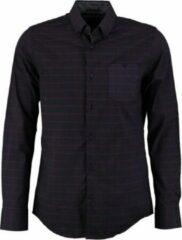 Vanguard blauw comfort stretch overhemd - Maat M