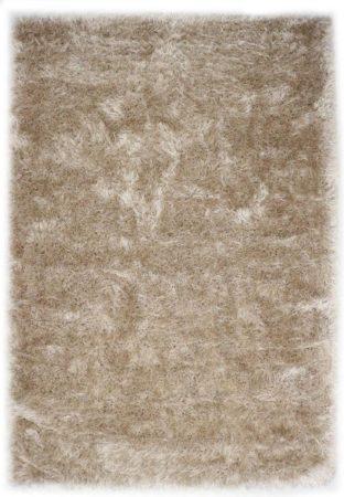 Afbeelding van Zandkleurige Karpet24.nl Hoogpolig Glanzend Vloerkleed Zand-120 x 170 cm