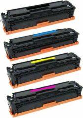 Cyane Mediaholland HP Toner Huismerk 410A Set 4 kleuren CF410A, CF411A, CF412A, CF413A