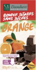 Damhert Chocoladetablet No Sugar Added/orange (85g)