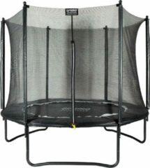 SPRING Trampoline 244 cm (8ft) met veiligheidsnet - Black Edition - zwarte rand