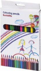 Merkloos / Sans marque 36 kleurpotloden Topwrite Kids