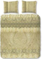Gouden Dekbedovertrek ZouZou Katoen-satijn nr.2120 - Olive - Claudia Maat: 240x220cm