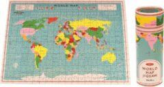 Wereld Puzzel   300 Stukjes   50 x 36 cm   Out Of The Blue   Educatieve Puzzel