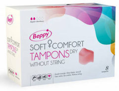 Asha International Beppy Soft + Comfort DRY Tampons - 8 stuks