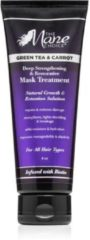The Mane Choice groen Tea & Carrot Deep Strengthening & Restorative Mask Treatment 236ml