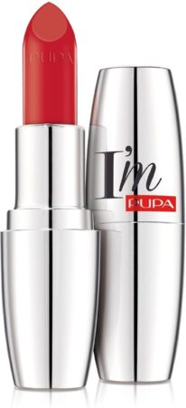 Afbeelding van Oranje PUPA I'm Pure Colour Absolute Shine Lipstick (Various Shades) - Flamboyant Orange