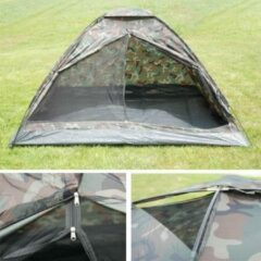 Fosco Camotent Koepeltent Army - Army/ Camouflage - 2 Persoons