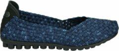 Bernie Mew NY CATWALK - Volwassenen Ballerinaschoenen - Kleur: Blauw - Maat: 39