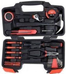 Zwarte FX Tools - 40-Delige gereedschapsset in koffer
