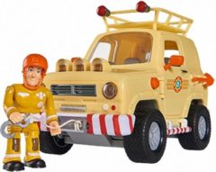 Rode Simba-Dickie Simba - Brandweerman Sam - Mountain 4x4