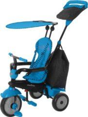 Smartrike - 4-in-1-driewieler Glow Meisjes Blauw/zwart