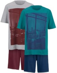 Shorties Gregory petrol/blau,grau/bordeaux
