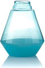 Blauwe Mandee Glazen Decoratie Vaas MIUBLU Aluro M
