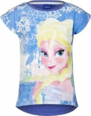 Disney Frozen t-shirt blauw voor meisjes 128 (8 jaar)