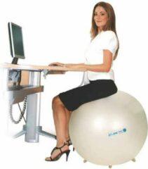 Gymnic Ledraplastic Adhome Gymnic Sit'n'Gym zitbal met voetjes, Ø 75 cm - kleur: parelmoer