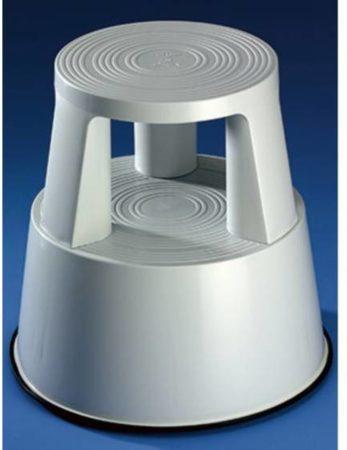 Afbeelding van Grijze Wedo Rollhocker gemaakt van kunststof, lichtgrijs