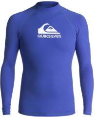 Quiksilver Heater L/S - Lycra für Herren - Blau