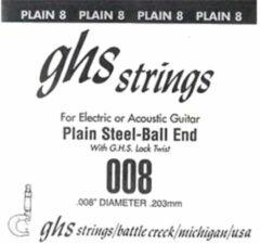 GHS .008 snaar voor elektrische gitaar