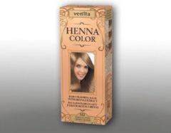 Venita HENNA COLOR BALSEM Dark Blonde / Donker Blond nr.112 Kant-en Klare Natuurlijke Haarverf Zonder Ammoniak. Ammonia. PPD. PTD. Peroxide. Waterstofperoxide etc. 75ml