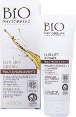 Phytorelax Bio Lux Lift Argan Illuminating Scrub Mask 2 In 1
