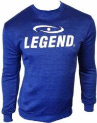 Legend Sports Sweater Heren Polyester Blauw Maat S