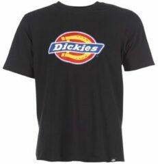 Zwarte T-shirt Korte Mouw Dickies HORSESHOE