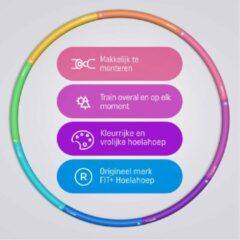 Sportbay Fit+ Happy™ fitness hoelahoep 1.4 kg