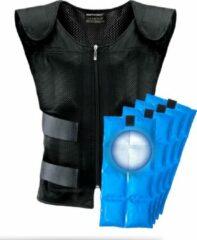 Zwarte BERTSCHAT®️ - Koelvest met koel elementen (PCM) - C15 - One Size Fits All