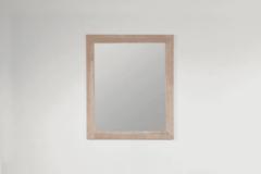 Grijze Saniclass Natural Wood spiegel 60x70x1.8cm rechthoek vingerlas zonder verlichting Grey oak 30060
