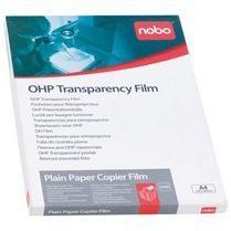 Nobo Doos van 50 x transparante vellen voor overhead projector inkjet 100 micron